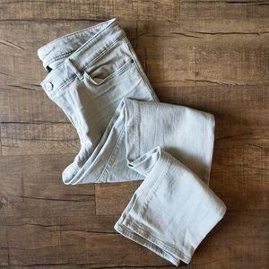 Eddie Bauer Light Grey Jeans 10